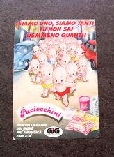 I303-Advertising Pubblicità- 1987 - GIG , I PACIOCCHINI