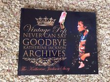 NEVER CAN SAY GOODBYE THE KATHERINE JACKSON STORY ARTIST PROOF HARDCOVER RARE