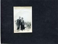 A 1935's Photo Of A Couple On A Beach