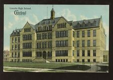 SCHOOL COLLEGE c1910-20 PPC USA...LINCOLN HIGH SCHOOL CLEVELAND OHIO