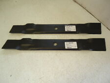 """NEW 2 Mower Deck Blades 42"""" John Deere AM137333 GX22151 GY20850 D110 D120"""
