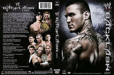 Official WWE Backlash 2009 DVD