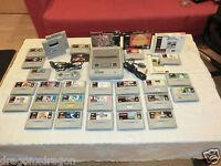 Super Nintendo / SNES PAL-Konsole mit 25 Spielen, 2x Super Gameboy Adapter