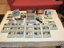Super Nintendo/SNES pal-consola con 25 juegos, 2x Super Gameboy adaptador