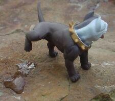 Peeing Pitbull Miniature 1/24 Scale G Scale Diorama Accessory Item