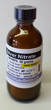 Silver Nitrate - 50 grams, High Purity 99.99% pure, freshly made