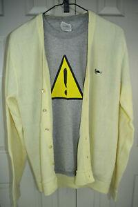 Vintage 60s Challenger Turtle Logo Cardigan Sweater XS/S Kurt Cobain Grunge