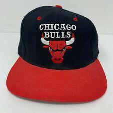 Chicago Bulls Hat NBA Trucker Adjustable Cap Embroidered Logo 7 OSFA EUC