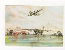 C130 Hercules Mk3 & Mk1 Aviation Postcard 464b