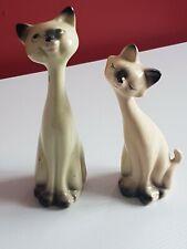 Vintage 1950's Siamese Cats Cruet Set
