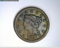 1851 Large Cent Braided Hair ( 4-296 11m/o )