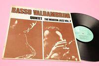 BASSO VALDAMBRINI LP MODERN JAZZ ITALY 1959 EX+ LAMINATED COVER