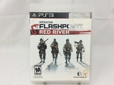 PS3 Operation Flashpoint: Red River Sony PlayStation 3, 2011 Disc & Case