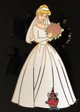 Disney Cinderella the Bride and Gus from the Wooden Pin Box Set LE of 3000