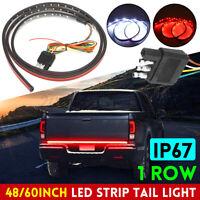 "48"" LED Strip Tailgate Tail Light Truck Bar Brake Reverse Brake Turn Signal"