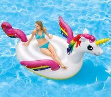 Isola gonfiabile galleggiante Unicorno gigante Intex 57281 mare piscina - Rotex