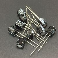 10pcs 220UF 10V220UF SANYO SWG 6x7mm LOW ESR Miniature Electrolytic Capacitor