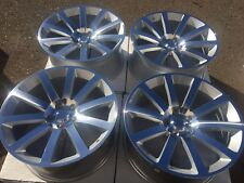 "SET OF FOUR 4 20"" WHEELS RIMS fit CHRYSLER 300 300C 300S SRT-8 MACHINED SILV NEW"