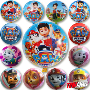 Paw Patrol Helium & Luftballons -  Kinder Geburtstag Skye Chase Marshall Rubble