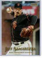 Jeff Samardzija 2019 Topps Stadium Club 5x7 Gold #249 /10 Giants