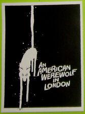STICKER - An American Werewolf in London - vinyl HORROR cult comedy John Landis