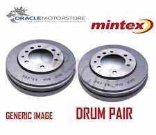2 x NEW MINTEX REAR BRAKE DRUM PAIR BRAKING DRUMS GENUINE OE QUALITY MBD007
