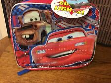 Disney Pixar Cars light up lunch bag new H27