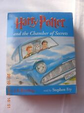 Harry Potter and The Chamber of Secrets Cassettes Stephen Fry 6 Audio Tapes
