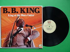 B B King of the Blues Guitar BE LP 1504 Blues Encore Made in Italy 1989 LP 33 BB