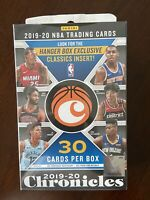 2019-20 Panini Chronicles Factory Sealed Hanger Box Zion? Ja? 🔥FREE SHIP NOW