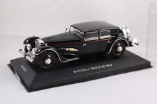 IXO Museum 1/43 Scale MUS032 - 1932 Bucciali Tav3 8-32 1932 - Model Car - Black