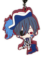 Black Butler Book of Circus Ciel Rubber Cell Phone Strap Licensed NEW