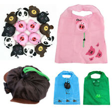 Foldable Cute Tote Pouch Shopping Bags Animal Reusable Waterproof  Handbag Women
