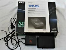 Sony DAT TCD-D3 Bedienungsanleitung, Battery Charger ACP-D30, Recorder Box, Etui