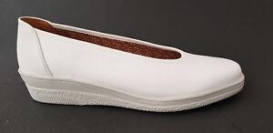 NEU Gabor comfort Damen Slipper Sneaker Leder Schuhe weiss echt Leder