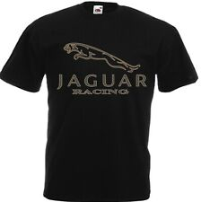 "Funny  Mens T Shirt ""JAGUAR"" Retro Style Cotton  DTG PRINTED ALL SIZE"