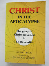 Christ in the Apocalypse - John B D Page - Signed by the Author
