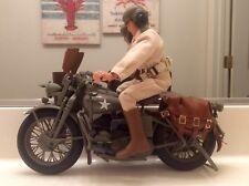 "G.I.Joe 12"" Harley-Davidson WLA WWII Motorcycle GI Joe - 1/6 - Loose"