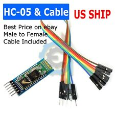 Hc 05 Bluetooth Wireless Rs 232 Master Slave Rf Transceiver Module For Arduino