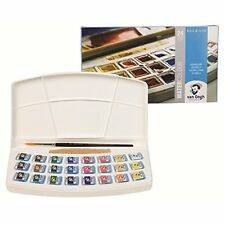 Van Gogh Watercolor Solid 24 color set Plastic case Japan import With Tracking