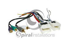 Radio Wire Harness AMP Aftermarket Radio Stereo Installation BEST KITS BHA7551