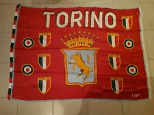 BANDIERA TORINO CALCIO FC drapeau flag no ultras GRANATA TORO scudetto 1975/1976