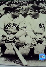 """NY YANKEE GREAT LOU GEHRIG WITH RED SOX'S JIMMY FOXX  8X10""""  PHOTO"""