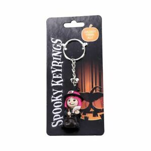 Nemesis Now Cute 3d Witch and Cauldron Keyring Collectable Pagan Magic