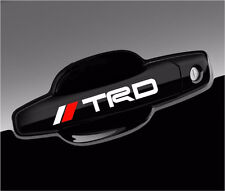TRD Tacoma Racing Stickers JDM Decals for handle, mirror, wheels (8pcs set)