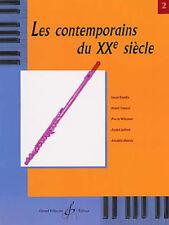 Les CONTEMPORAINS écrivent pour lesinstruments à vent - La Flûte Vol. 2