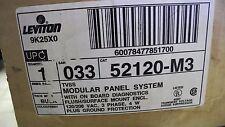 Leviton 9K25X0 #52120-MC TVSS Modular Panel Surge Protector System - NEW