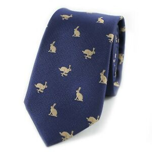 Men Animal Tie Rabbit Tie Hare Necktie Father's Day Birthday Gift Wedding Tie