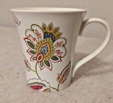 222 Fifth JACOBEAN TRAIL One White Mug (s) Floral Paisley