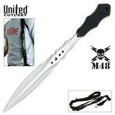 "M48 Urban Stinger Dagger Dual Edge Knife Spike Full Tang 2Cr13 UC2936 8"" OA New"